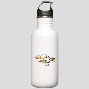 DNA Synthesis Stainless Water Bottle 1.0L