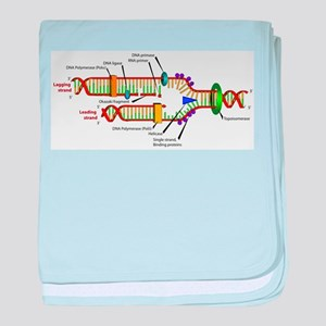 DNA Synthesis baby blanket