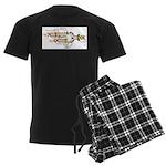 DNA Synthesis Men's Dark Pajamas