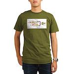 DNA Synthesis Organic Men's T-Shirt (dark)