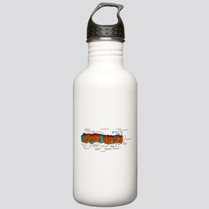 Cell Membrane Stainless Water Bottle 1.0L