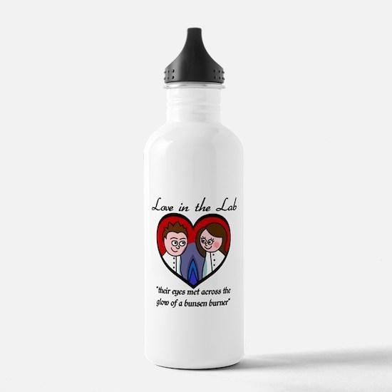 Love in the Lab - Boy/Girl Water Bottle