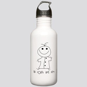 Lab Coats are Sexy Stainless Water Bottle 1.0L