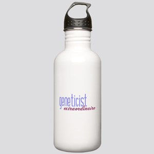 Geneticist Extraordinaire Stainless Water Bottle 1