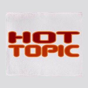 Hot Topic Throw Blanket