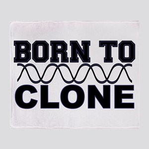 Born to Clone - DNA Throw Blanket