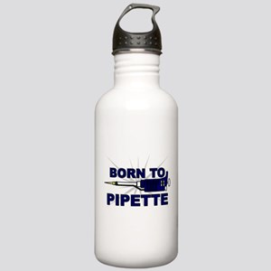 Born to Pipette Stainless Water Bottle 1.0L