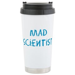Mad Scientist Stainless Steel Travel Mug