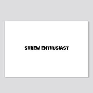Shrew Enthusiast Postcards (Package of 8)