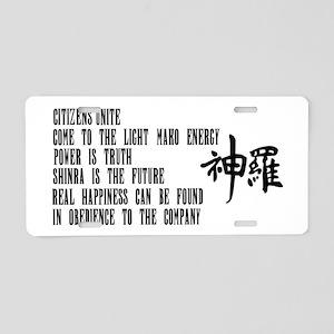 Shinra Aluminum License Plate