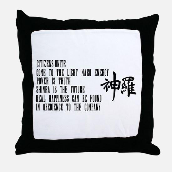 Shinra Throw Pillow