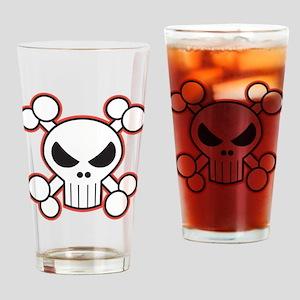 Mad Skull Drinking Glass
