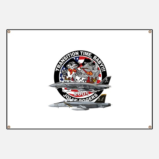 F-14 Jolly Rogers Banner