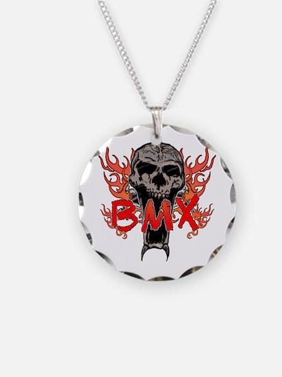 BMX skull 2 Necklace