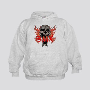 BMX skull 2 Kids Hoodie