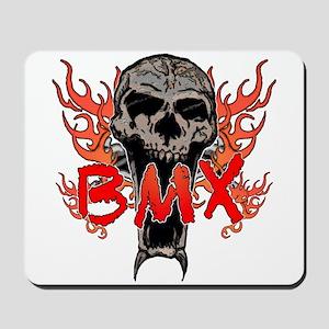 BMX skull 2 Mousepad