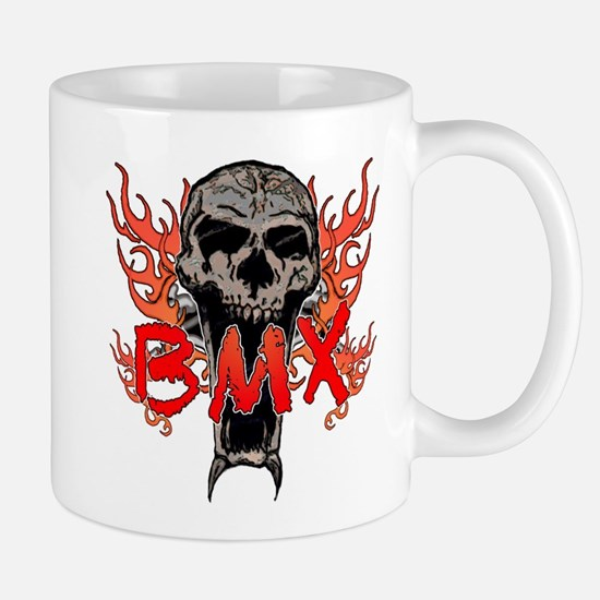 BMX skull 2 Mug