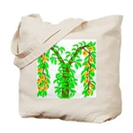 M-Peach Bush Tote Bag