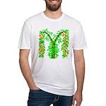 M-Peach Bush Fitted T-Shirt