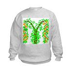 M-Peach Bush Kids Sweatshirt