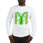 M-Peach Bush Long Sleeve T-Shirt