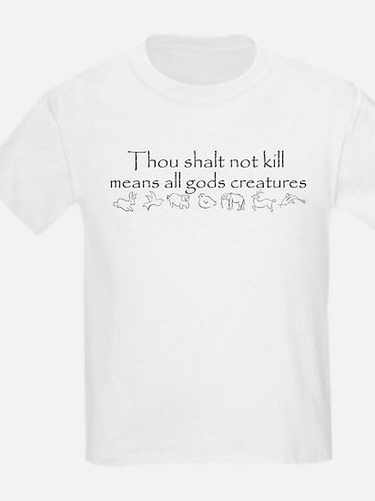 Thou shalt not kill Kids T-Shirt
