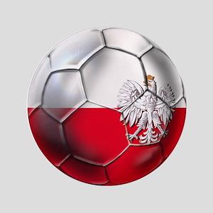 Poland Football Button
