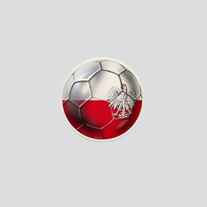 Poland Football Mini Button