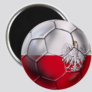 Poland Football Magnet