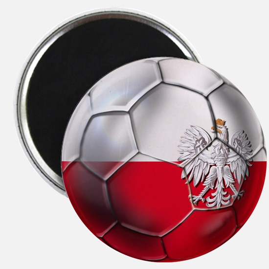 Poland Football Magnet