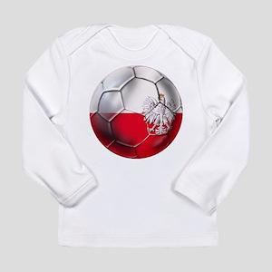 Poland Football Long Sleeve Infant T-Shirt