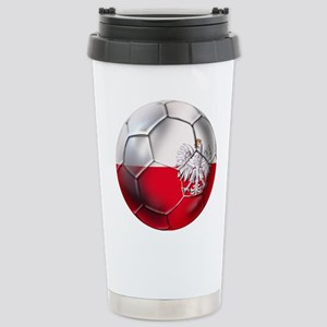 Poland Football Stainless Steel Travel Mug