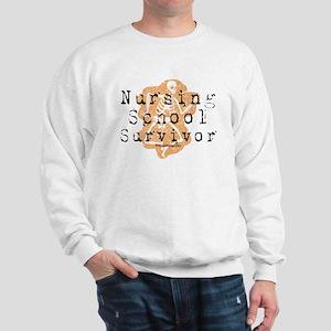Nursing School Survivor Sweatshirt
