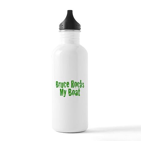Bruce Rocks My Boat Stainless Water Bottle 1.0L