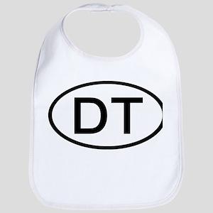 DT - Initial Oval Bib