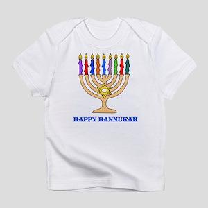 Hannukah Menorah Infant T-Shirt