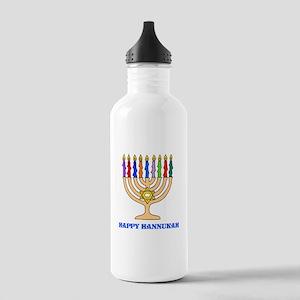 Hannukah Menorah Stainless Water Bottle 1.0L