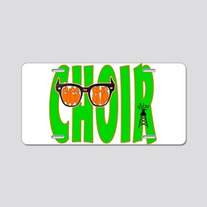 Eyes on PHS Choir Aluminum License Plate