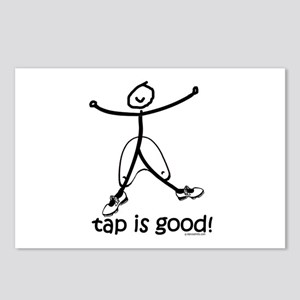 tap is good! DanceShirts.com Postcards (Package of