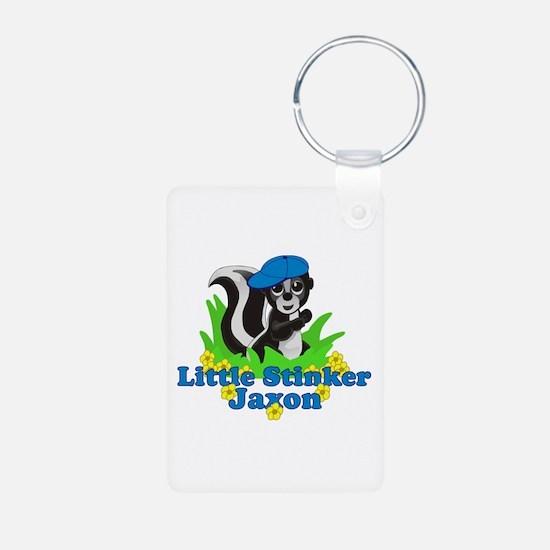 Little Stinker Jaxon Aluminum Photo Keychain