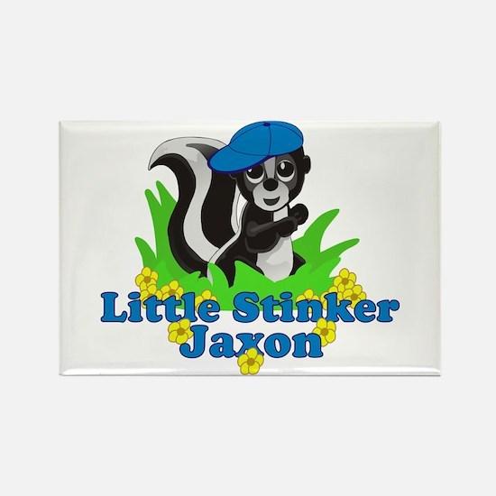 Little Stinker Jaxon Rectangle Magnet