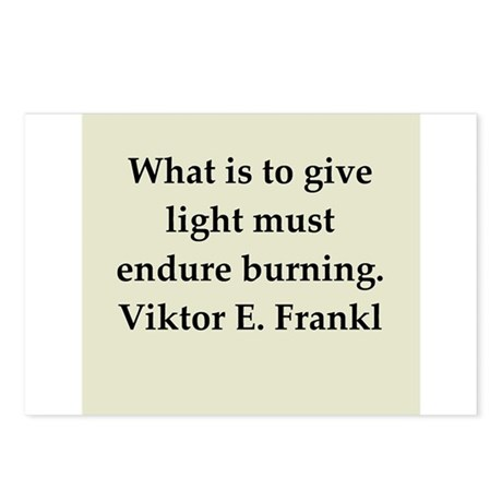 Viktor Frankl quote Postcards (Package of 8)