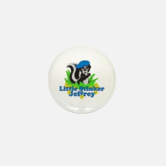 Little Stinker Jeffrey Mini Button