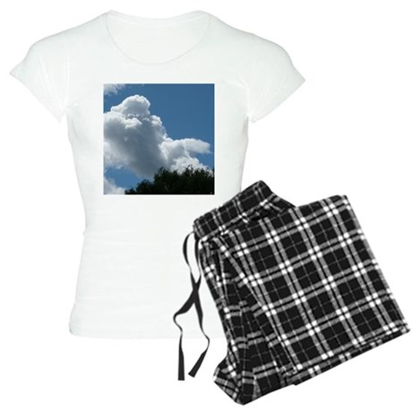 Poodle in Clouds? Women's Light Pajamas