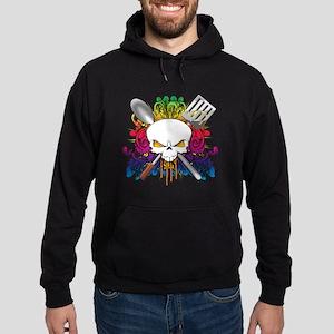 Chef Skull Hoodie (dark)
