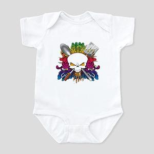 Chef Skull Infant Bodysuit