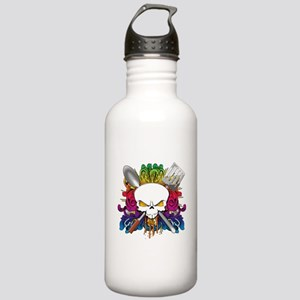 Chef Skull Stainless Water Bottle 1.0L