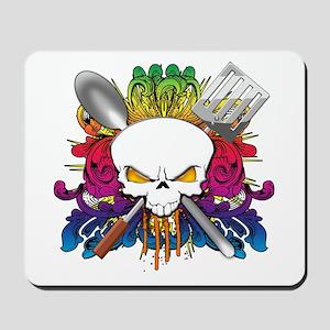 Chef Skull Mousepad
