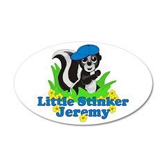 Little Stinker Jeremy 38.5 x 24.5 Oval Wall Peel