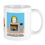 Ema Cartoon Coffee Mug